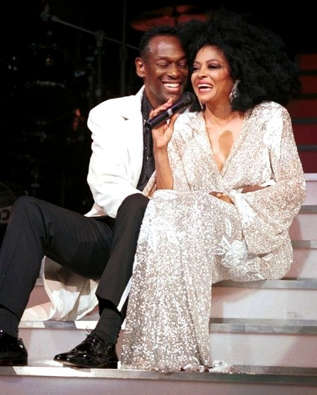 Luther and Diana Ross  by ImagePros on Flickr